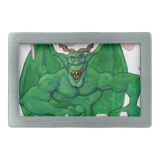 Moloch:  He's the BEST! Rectangular Belt Buckle