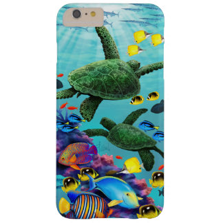 Molokini Cove Hawaiian Sea Turtle Tropical Fish Barely There iPhone 6 Plus Case