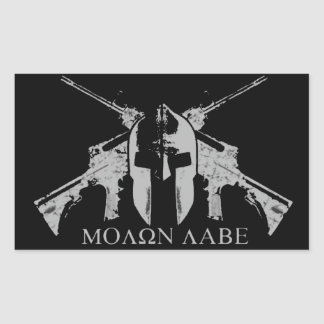 Molon Labe (a) Sticker