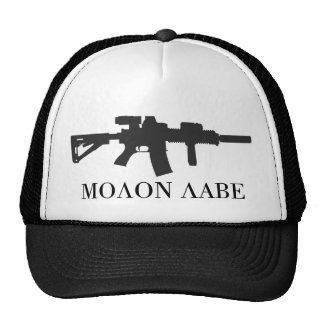 Molon Labe Carbine Cap Mesh Hats