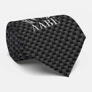 Molon Labe Chrome Spartan Helmet on Carbon Fiber Tie