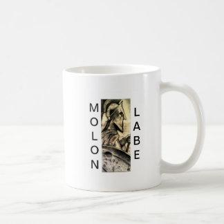 Molon Labe Classic White Coffee Mug