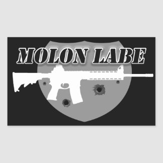 Molon Labe | Come and get them | Rifle Sticker