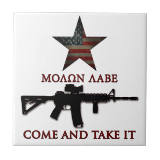 Molon Labe - Come And Take It Tile
