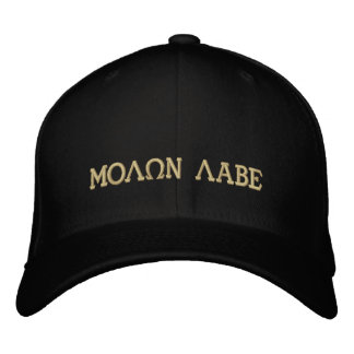 Molon Labe (Come and Take Them) Embroidered Baseball Cap