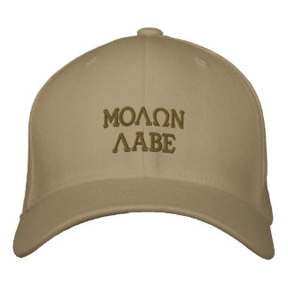 Molon Labe (Come and Take Them) Embroidered Baseball Caps