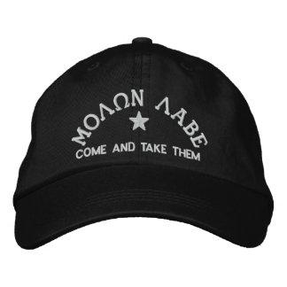 Molon Labe - Come and Take Them Embroidered Hats