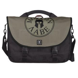 Molon Labe, Come and Take Them Laptop Messenger Bag