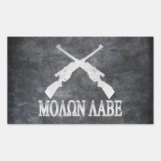 Molon Labe Crossed Rifles 2nd Amendment