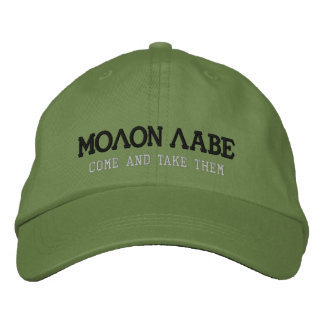 MOLON LABE EMBROIDERED HAT