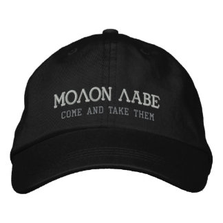 MOLON LABE EMBROIDERED HATS