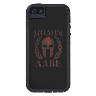 Molon Labe Iron Warrior Laurels iPhone 5 Cases