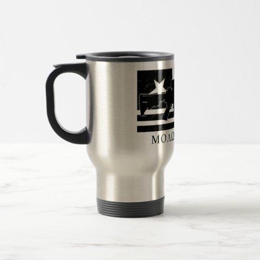 Molon Labe M4 Flag Cup Coffee Mug