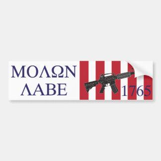 Molon Labe/Sons of Liberty Bumper Sticker