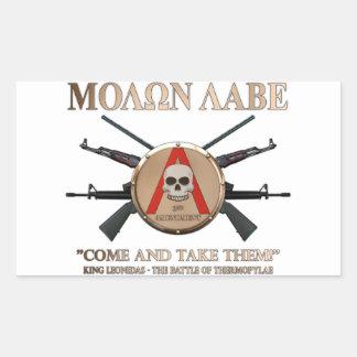 Molon Labe - Spartan Shield