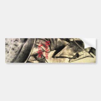 Molon Labe Spartan Warrior Bumper Sticker