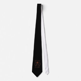 Molon Labe Spartan Warrior Iron Laurels Mask Tie