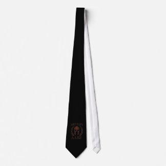 Molon Labe Spartan Warrior Iron Laurels Mask Tie