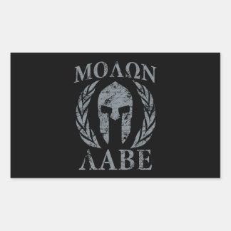 Molon Labe Spartan Warrior Laurels Sticker