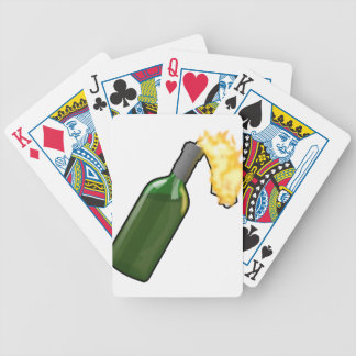 Molotov Cocktail Bicycle Playing Cards