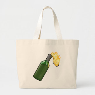 Molotov Cocktail Large Tote Bag
