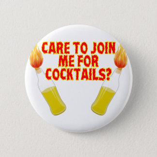 Molotov Cocktails 2 Inch Round Button