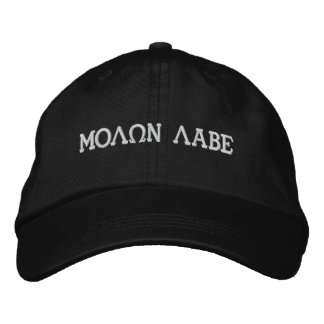 MOLQN LABE EMBROIDERED BASEBALL CAPS