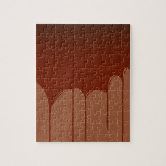 Molten Chocolate Background Jigsaw Puzzle