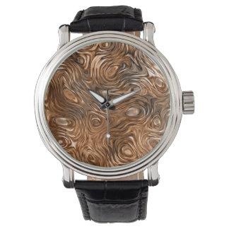 "Molten ""Copper"" print watch"