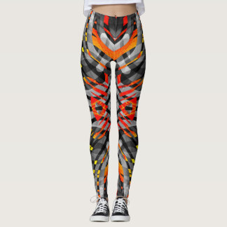 Molten Crystal Leggings
