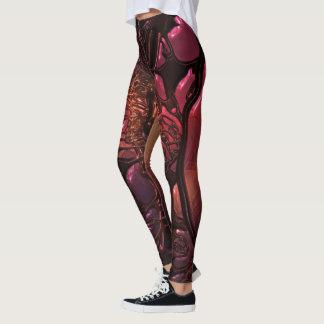 Molten Lava Leggings from Naturewear