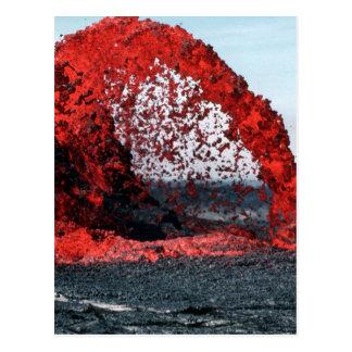 Molten Lava Postcard