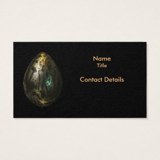Molten Metal Egg Business Card