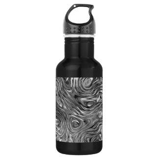 Molten print aluminium black
