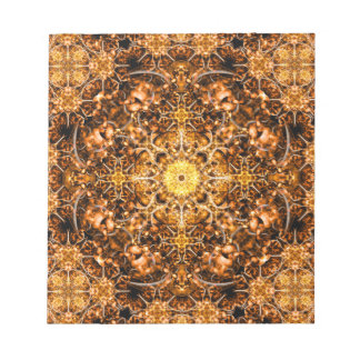Molten Prism Mandala Notepad