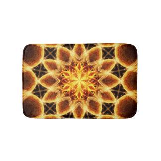 Molten Star Mandala Bathroom Mat