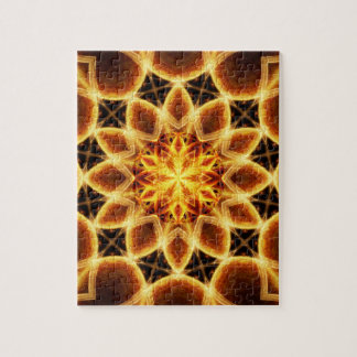 Molten Star Mandala Puzzle