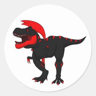 Molten Tyrannosaurus Rex Stickers