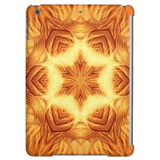 Molten Vortex Mandala iPad Air Cases