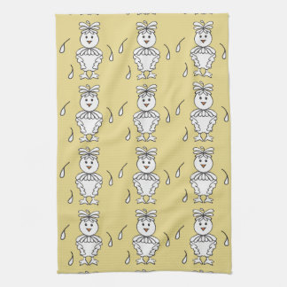 Molting Missy Chicken Dishtowels Kitchen Towel