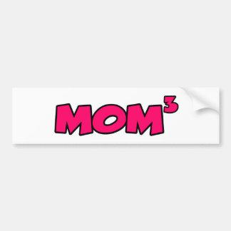 MOM3 BUMPER STICKER