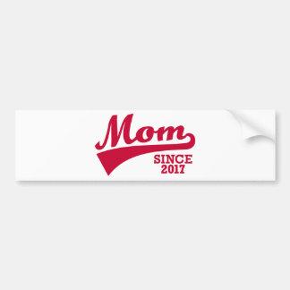 Mom 2017 bumper sticker