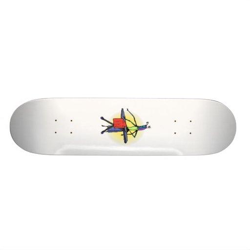 Mom Alien Ironing Skirt Skateboards
