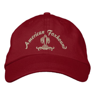 MOM, American Foxhound Embroidered Baseball Cap