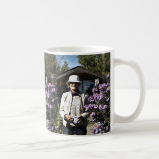 Mom and Asters in the Gardens 2013 Coffee Mug