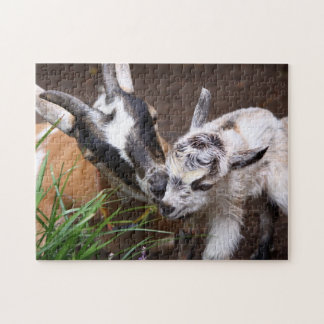 Mom and Baby Goat Jigsaw Puzzle