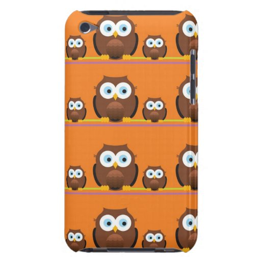 Mom and Baby Owls Barely There iPod Cover