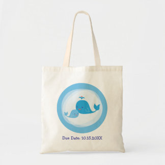 Mom and Baby Whale Bag