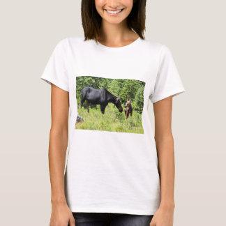 Mom and Calf Moose T-Shirt