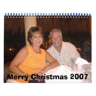 mom and dad christmas 07 calendar